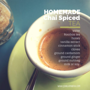 Homemade Spiced Chai Tea